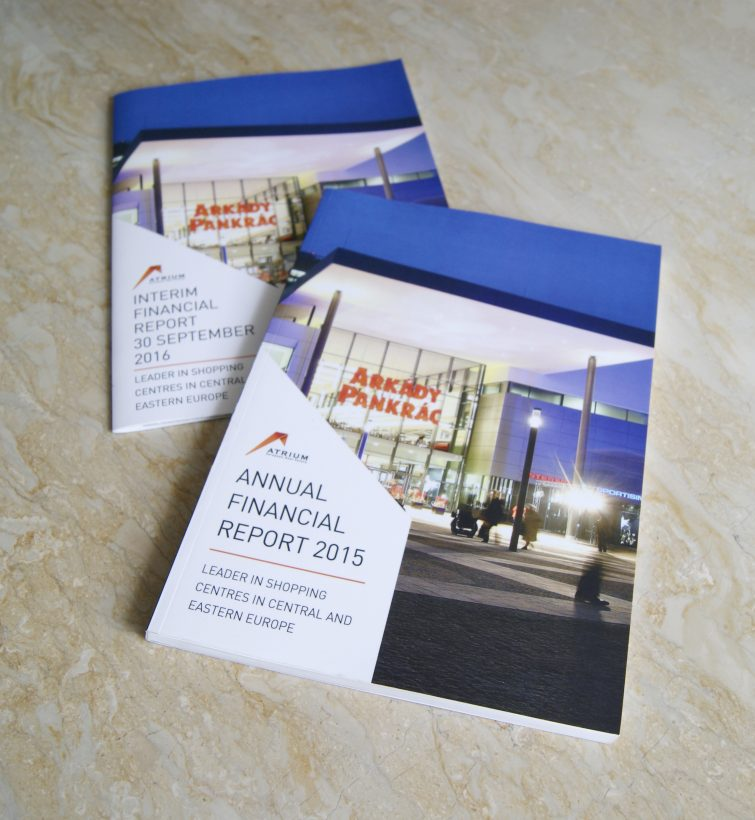 AERE Financial reports: Desk Top Publishing and Printing production