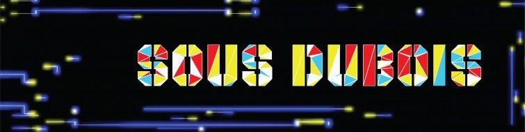 Animated logo for Sous Dubois Mixcloud header