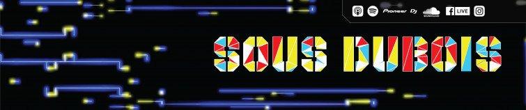 Animated logo for Sous Dubois Soundcloud header