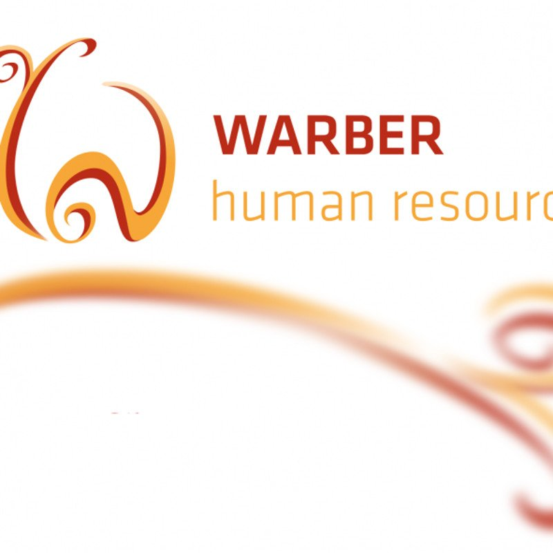 Warber Human Resources Logo and housestyle design
