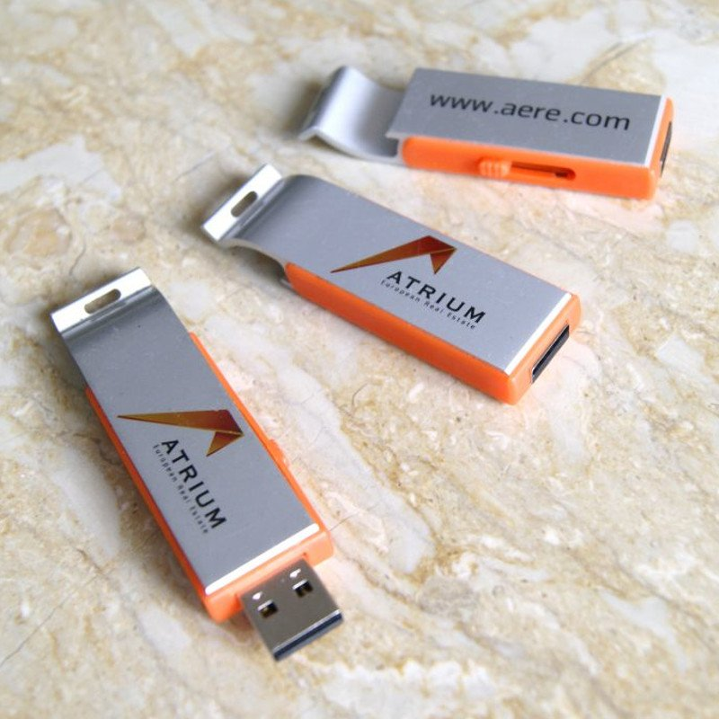 Atrium real estate Promotional USB