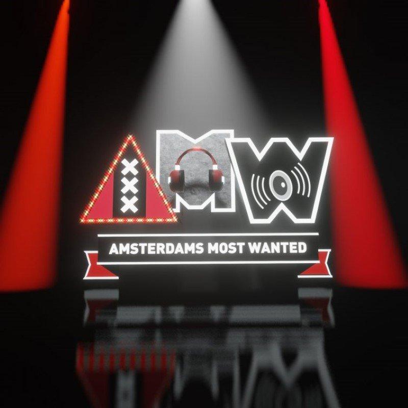 AMW Radio 3D animated logo design