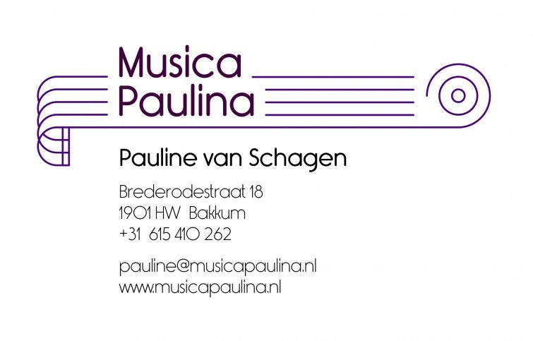 Logo design for music teacher