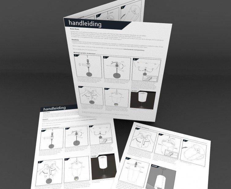 Design and illustration Instruction manuals