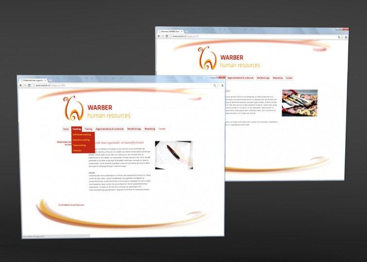 Warber Human Resources Website design: www.warber.nl